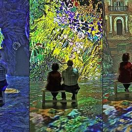 Vincent - Triptych by Allen Beatty