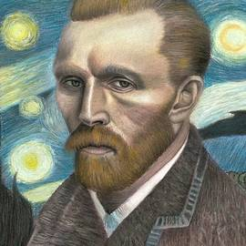 Vincent Van Gogh by Vishvesh Tadsare