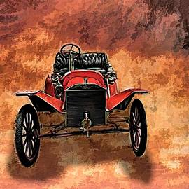 Vintage 1907 Model S Ford Roadster by Joan Stratton