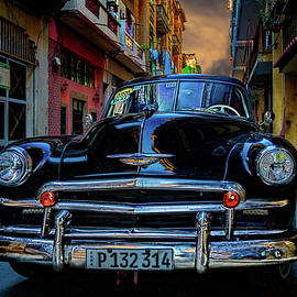 Vintage Automobile in Havana by Chris Lord