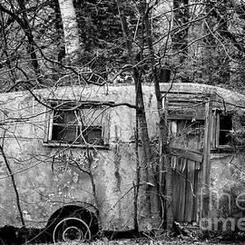 Vintage camper by Alana Ranney