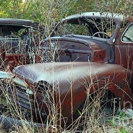 Vintage Chevrolet Sedan, Indiana by Steve Gass