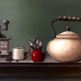 Vintage coffee break by Jennifer Busa