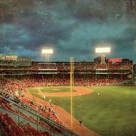 Vintage Fenway Park - Boston Red Sox by Joann Vitali