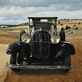 Vintage Ford V8 Coupe 1920s Classic Motorcar by Joan Stratton