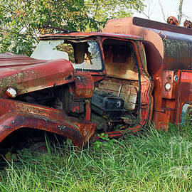 Vintage Fuel Delivery Truck, Indiana by Steve Gass