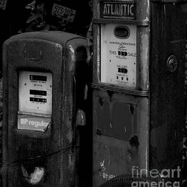 Vintage Gas Pumps by Doc Braham