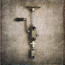 Vintage Hand Drill by Dave Bowman