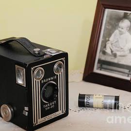 Vintage Kodak Brownie Box Camera by Rodger Painter