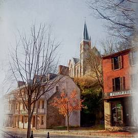 Vintage Shenandoah Street by David Beard