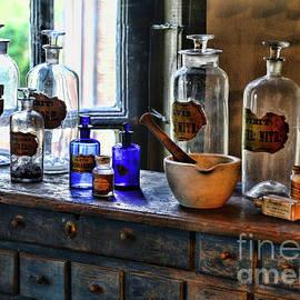 Vintage Top Shelf Pharmacy by Paul Ward