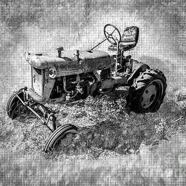 Vintage Tractor by Anthony Ellis
