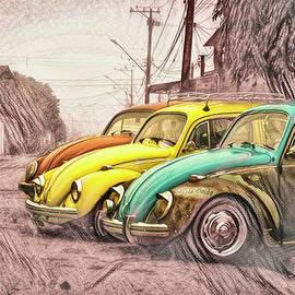 Vintage VW Series - Trio by Bellesouth Studio
