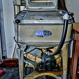Vintage Washing Machine Circa 1930 by Paul Ward