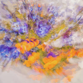 Violets by Rich Cavnar