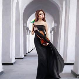 Violin Elegance - Amadeus Electric Quartet by Omid Gohardani
