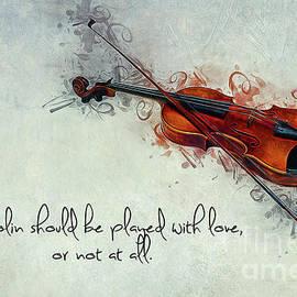 Violin Love by Ian Mitchell
