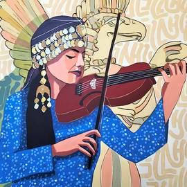 Violin Melody to Mesopotamia by Paul Batou