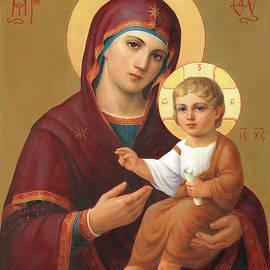 Mother Of Jesus by Svitozar Nenyuk