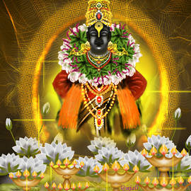 Vitthal the god of Hindu by Anjali Swami