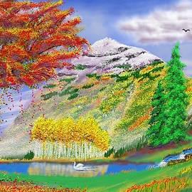 Vivid Trees Colorado by Gary F Richards