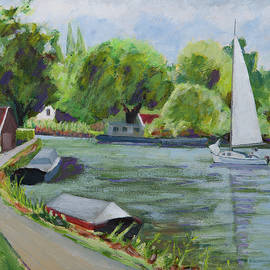 Vlietzicht Holland by Anthony Van Gelder