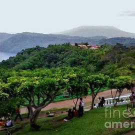 Lake View in Nicaragua by Karen Tauber