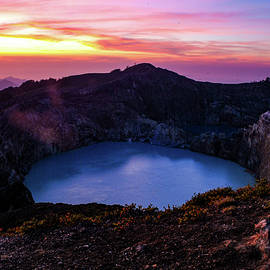 The Fire Of Heaven - Mount Kelimutu, Flores. Indonesia