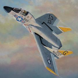 Vought F7U Cutlass by Douglas Castleman