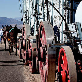 Wagon In Death Valley National Park by Ivete Basso Photography