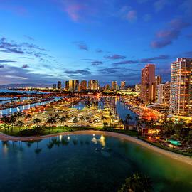 Waikiki Twilight by Anthony Jones