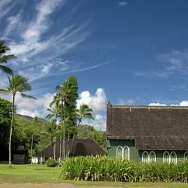 Waioli Huiia Church Kauai by Heidi Fickinger