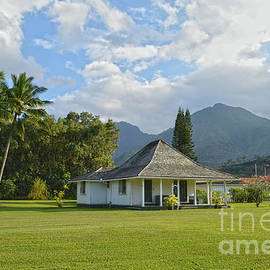 Wai'oli Mission Office, Kauai by Catherine Sherman