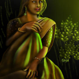 Waiting since evening  by Anjali Swami