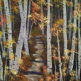 Walk thru the Trees by Mindy Gibbs
