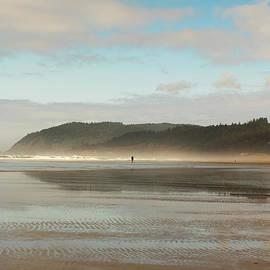 walker on the Beach  by Jackie Follett
