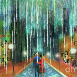 Walking in the rain with you by Michelle Ressler