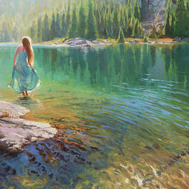 Walking on Water by Steve Henderson