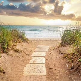 Walkway through the Dunes by Debra and Dave Vanderlaan