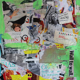 Wall to Wall Collage 1 by Cathy Anderson