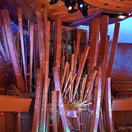 Walt Disney Concert Hall Organ by Julieanne Case
