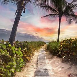 Wander Through the Dunes Painting by Debra and Dave Vanderlaan