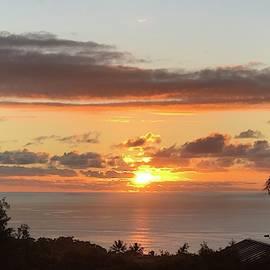 Warm Sunset by Karen Nicholson