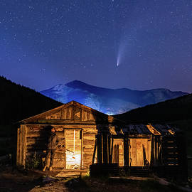 Watching Comet Neowise From An Abandoned Cabin by Ben Ford