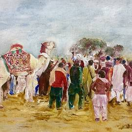 Watching festival by Khalid Saeed