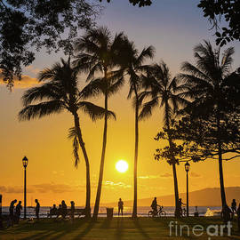 Watching the Sun Set by Phillip Espinasse
