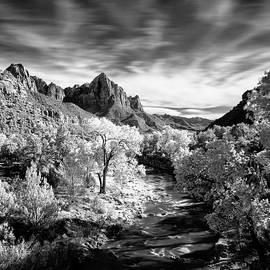Watchman Spire, Zion National Park by Bryan Rierson