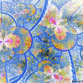 Water Lily Haze by Bunny Clarke