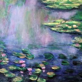Water-Lily Pond 2 by Vesna Martinjak