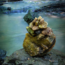 Water On The Rocks by Mitch Shindelbower
